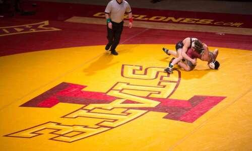 Iowa State University promotion of wrestling Regional Training Center causes…