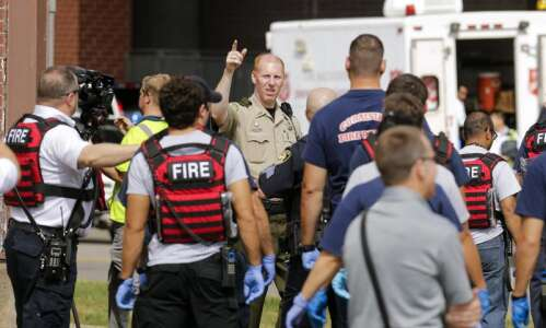 Numerous agencies stage active shooter drill on University of Iowa…