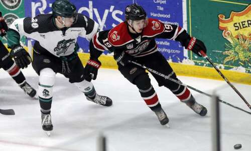 Former Cedar Rapids RoughRiders player, NHL draft pick Will Francis…