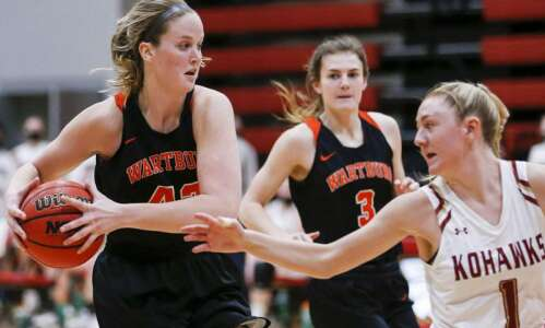 Photos: Coe women's basketball vs. Wartburg
