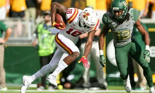 Iowa State football sets records, survives at Baylor