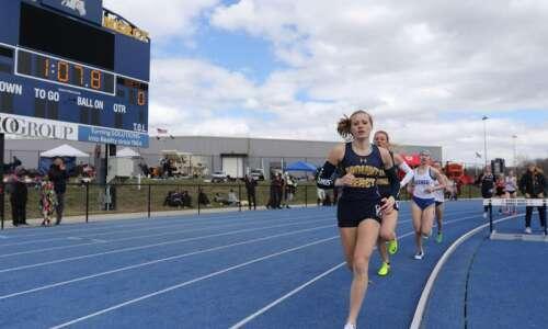 Mount Mercy's Andrea Ertz in for the long run