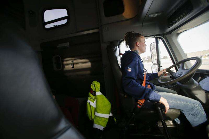 Trucking industry scouts untapped potential from women and young people