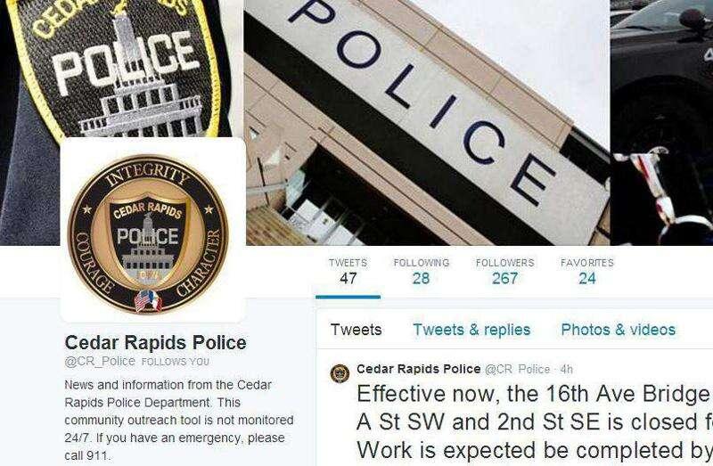 Cedar Rapids Police Department makes official social media debut