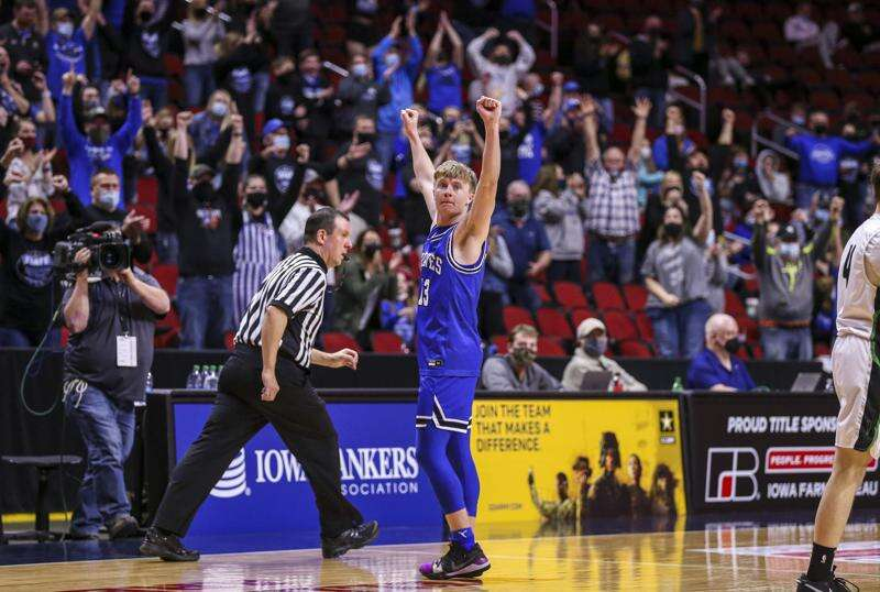 Iowa all-state boys' basketball 2021: Montezuma's Trey Shearer a 1st-teamer for 3rd straight year