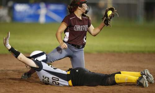 The Late, Late Show: Clarksville outlasts Sigourney in state softball…