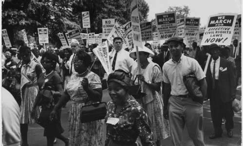 Smithsonian exhibit launches Midwest tour of 'Voices and Votes: Democracy…
