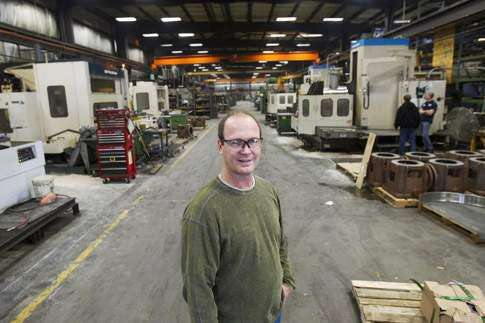 Machine shops can be affected by customers' fortunes