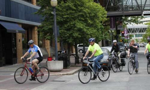 Ron Corbett launches Bike To Work Week with annual Mayor's…
