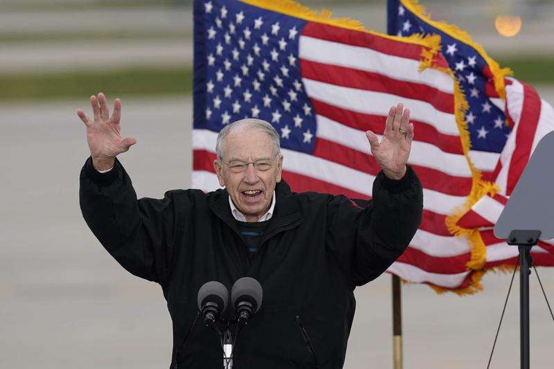 After COVID-19 isolation, Chuck Grassley back at work in Washington