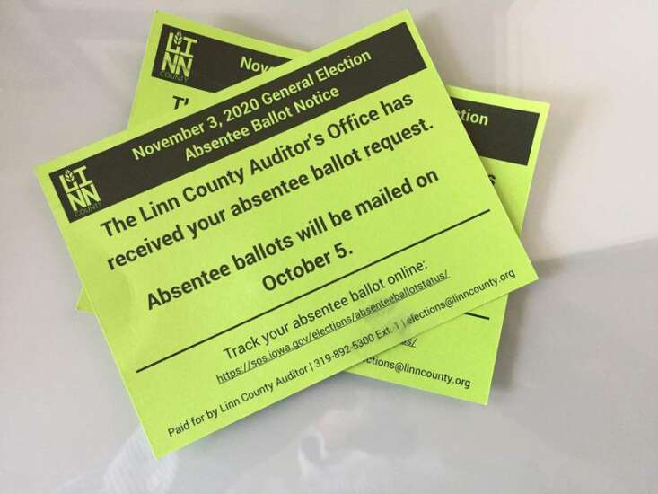 Absentee ballot FAQ: What you need to know about voting by mail in Iowa