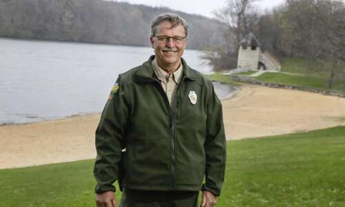Meet the ranger who takes care of Iowa's oldest state…