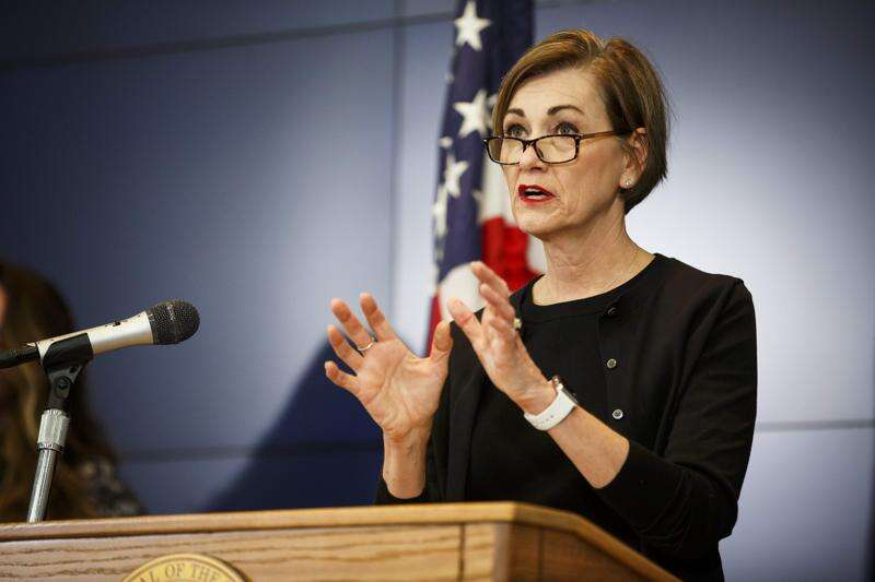 Iowa Gov. Kim Reynolds sees Trump, feds as 'a partner' in plans to reopen state economy