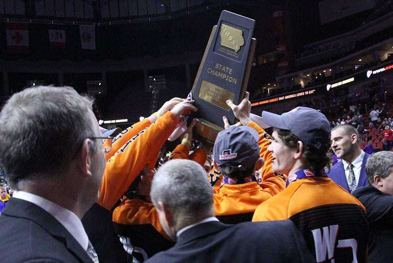 West Delaware wasn't all business while winning state titles