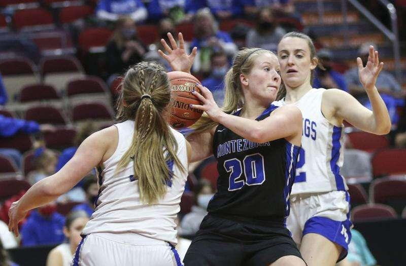 Photos: Montezuma vs. Newell-Fonda, Iowa Class 1A girls' state basketball semifinals