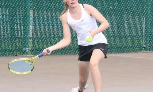 Trojan girls tennis rolls on to Day 2