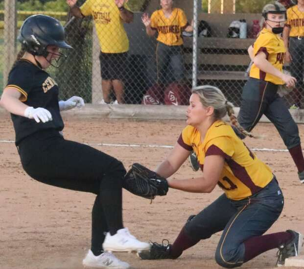 Panther softball struggles at the plate