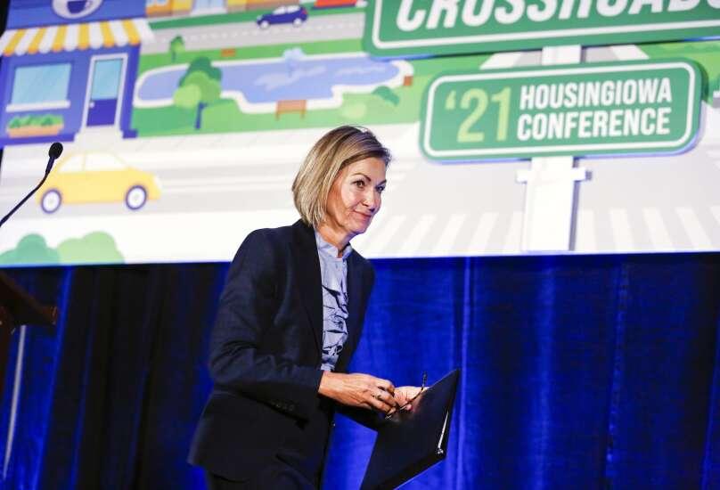 Gov. Kim Reynolds commits $100 million more to overcoming Iowa's housing shortage