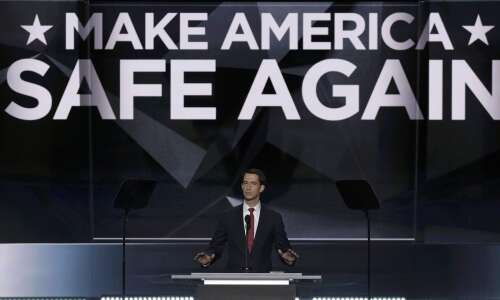 """Arkansas Sen. Cotton: """"I'll let future elections work themselves out."""""""