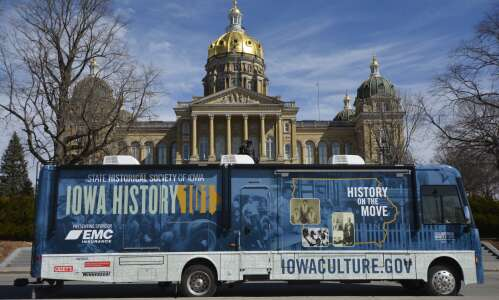 New Iowa history exhibition hits the road to 99 counties