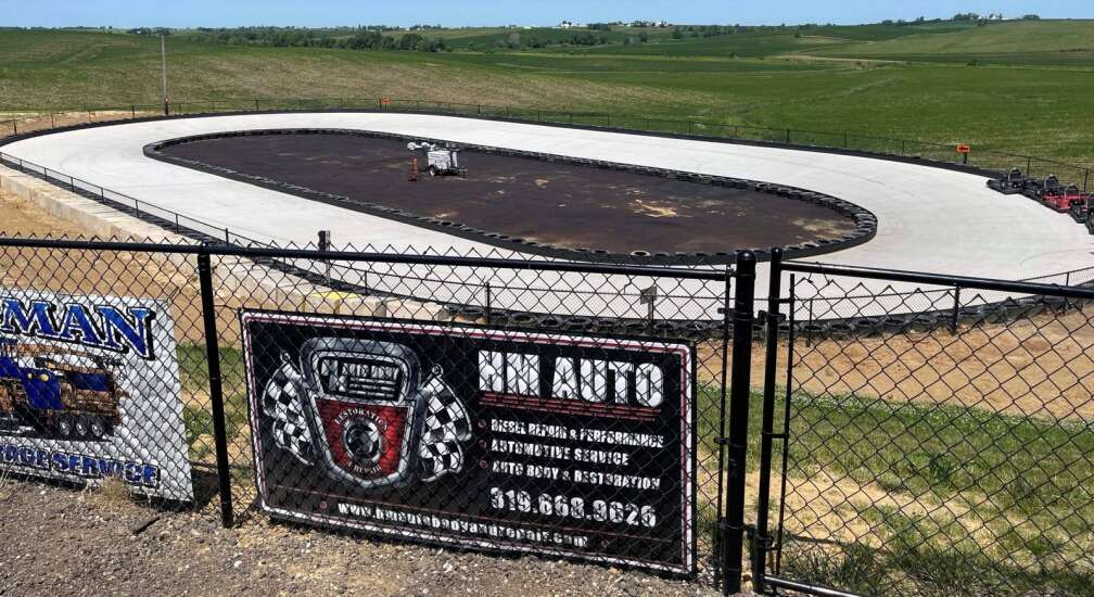 Nitro Speedway in Eastern Iowa a dream come true for Ballards