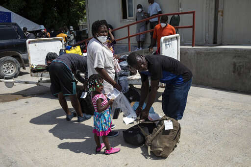 U.S. launches mass expulsion of Haitian migrants from Texas