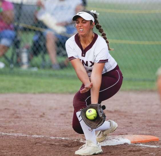 Photos: North Linn vs. Earlham, Class 2A Iowa high school state softball championship