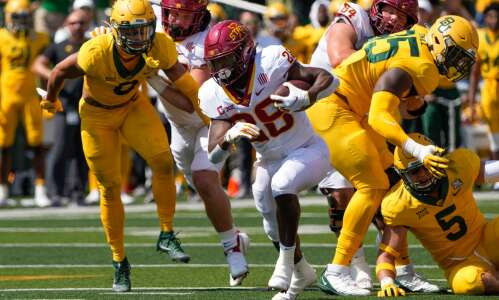 Iowa State football notes: Breece Hall is back
