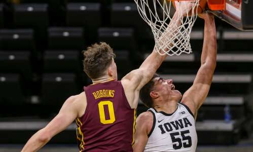 Liam Robbins transferring from Minnesota to Vanderbilt, not Iowa