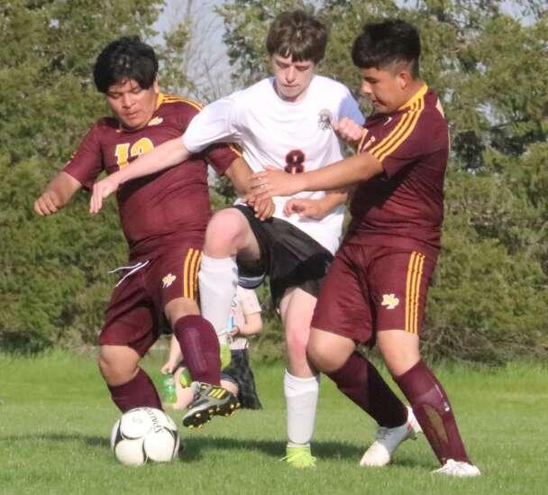 Trojans grind out 3, beat Mt. Pleasant