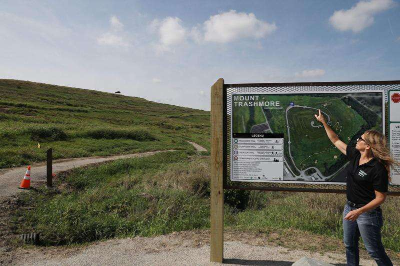 Mount Trashmore trails, overlook to open Thursday