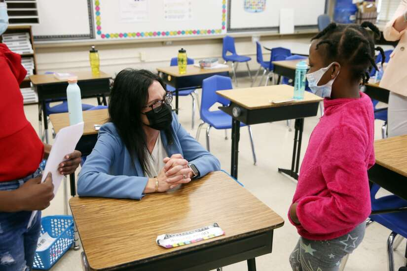 'I want every school to do what you do,' state education director says after tour of Kenwood, Iowa BIG