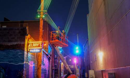 Public art puts popular Iowa City alley in the limelight