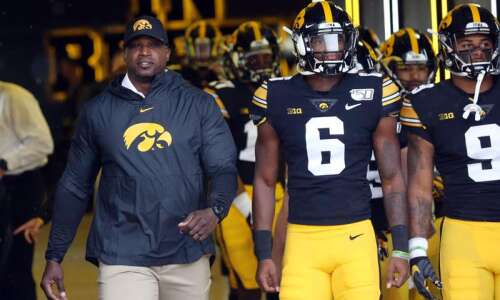 Kelton Copeland on Iowa football's culture shift, 2020 receivers and…