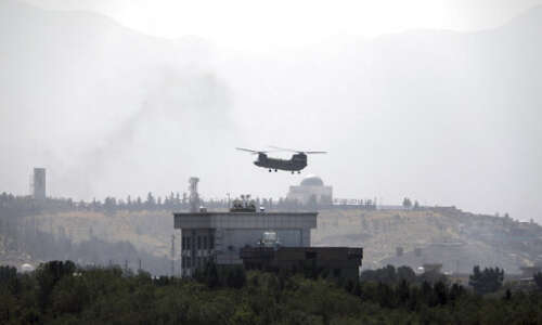 Afghan president flees country as Taliban move on capital