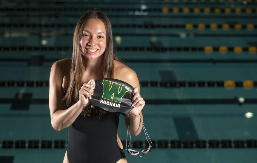 Aurora Roghair of Iowa City West is the 2021 Gazette Female Athlete of the Year