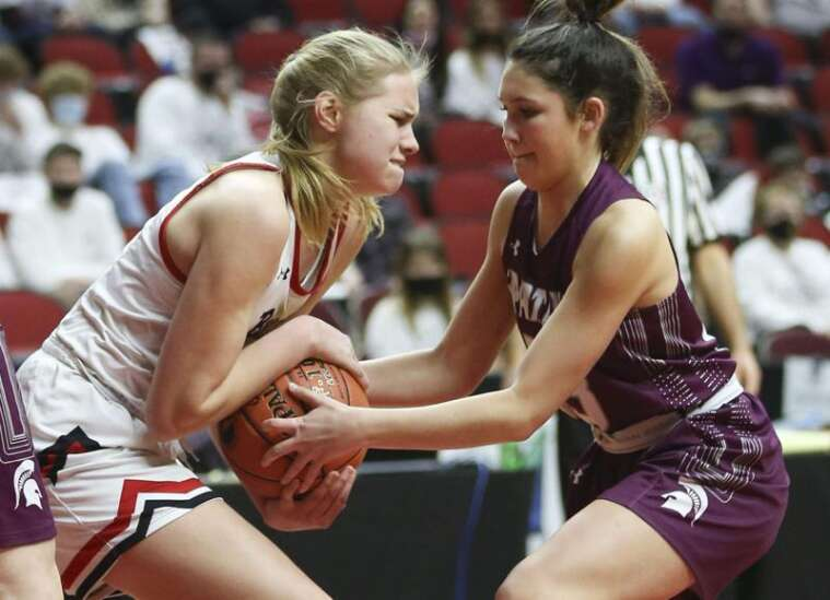 This time, West Branch is sticking around at the girls' state basketball tournament