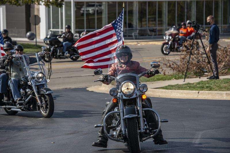 Even without the roast, Joni Ernst's ride raises $20,000 for nonprofits