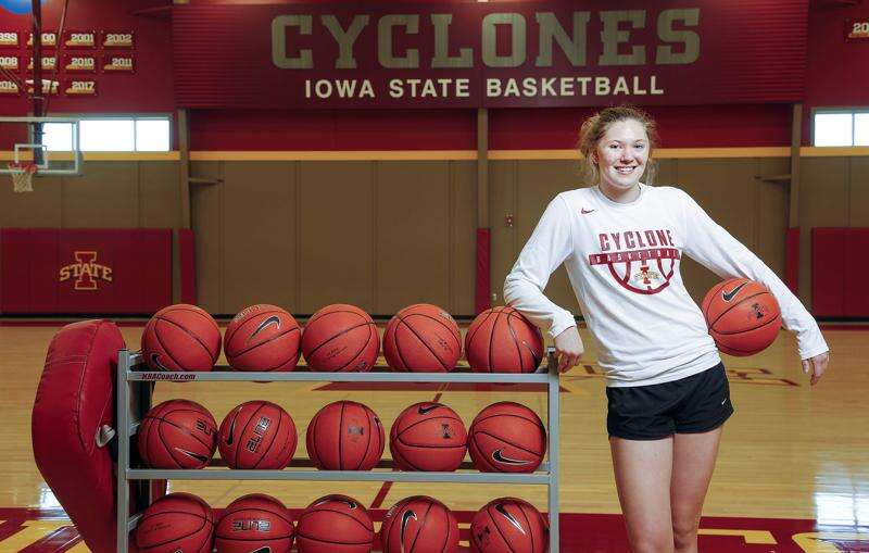 Ashley Joens records historic double-double for Iowa State women's basketball