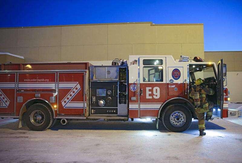 Cedar Rapids house fire sends one man to hospital