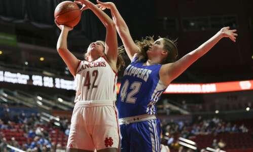 Photos: North Scott vs. Clear Creek-Amana, Iowa Class 4A girls'…