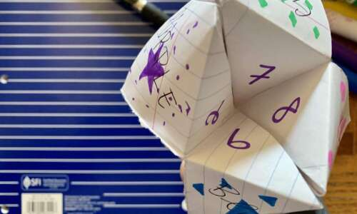 How to predict the future: Make a 'cootie catcher'