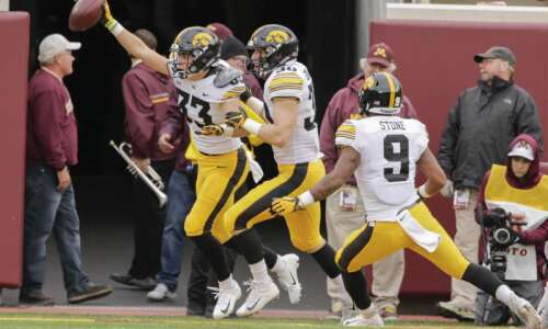 Iowa secondary building on strong foundation with spring ball