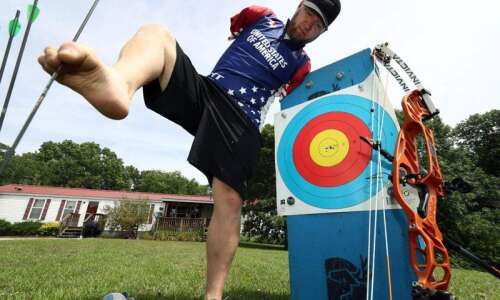 Fairfield's Stutzman finishes ninth at Paralympics