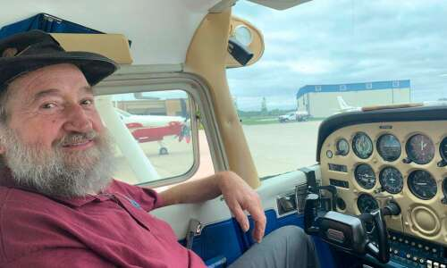 Young Eagles program puts kids in the pilot's seat
