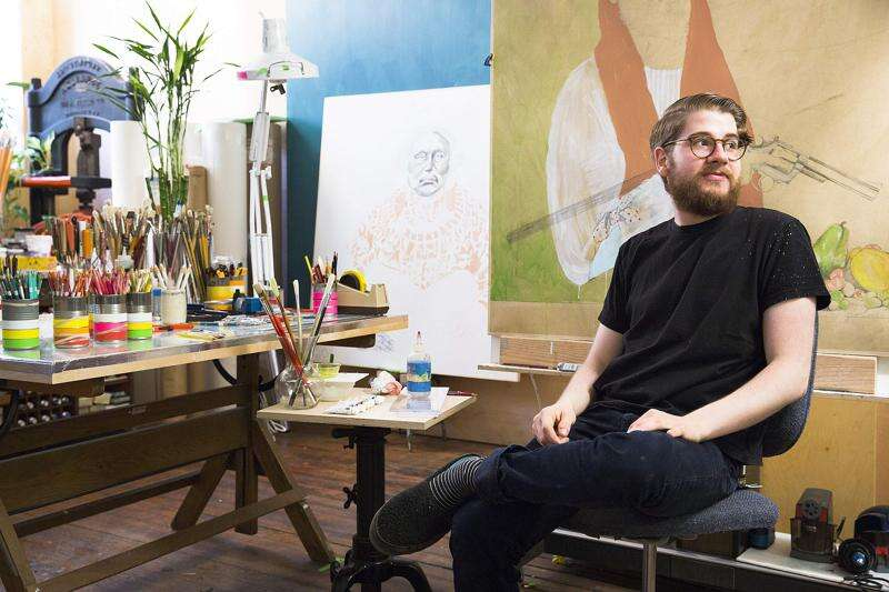 Iowa City printmaker Diego Lasansky opens his first solo exhibition at 21-years-old