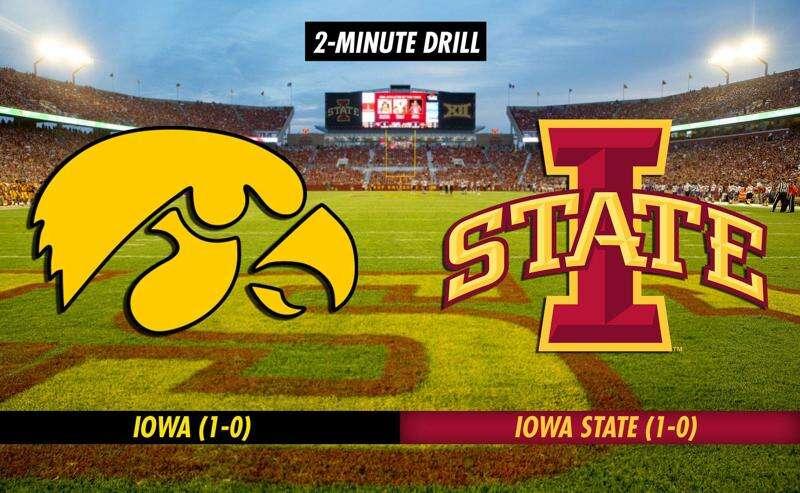 2-Minute Drill: Iowa Hawkeyes vs. Iowa State Cyclones