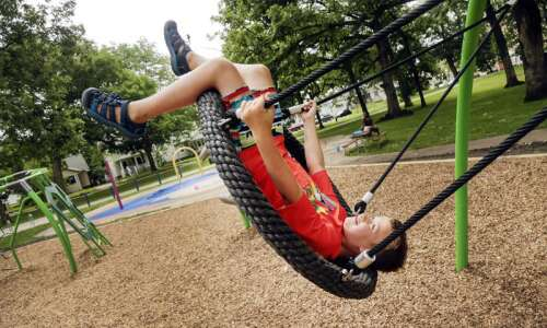 How fast can you do this playground challenge?