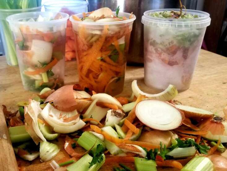 Make your own broth from food scraps
