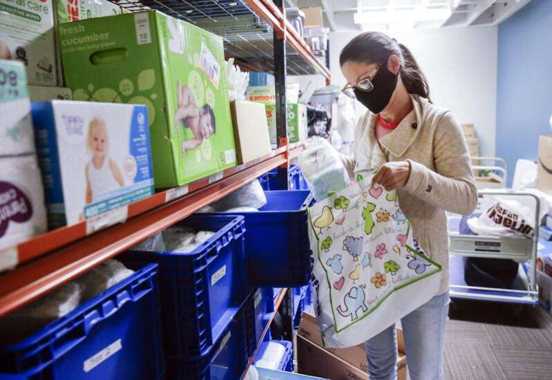 Eastern Iowa Diaper Bank survives soaring demand from pandemic and derecho